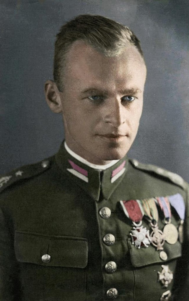 13 May 1901, Witold Pilecki was born. In 1940 he volunteered to be captured by Nazis so he could collect intelligence on the Auschwitz Concentration Camp. He escaped in April 1943 and wrote a report about the crimes in the camp.