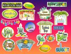 New stickers! Bar and Bat Mitzvah, High Holidays, Sukkot, Year of jews stickers and more.