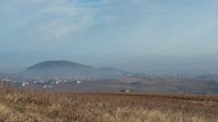 Vue sur le Mont Brouilly