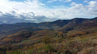 vue sur les monts du beaujolais