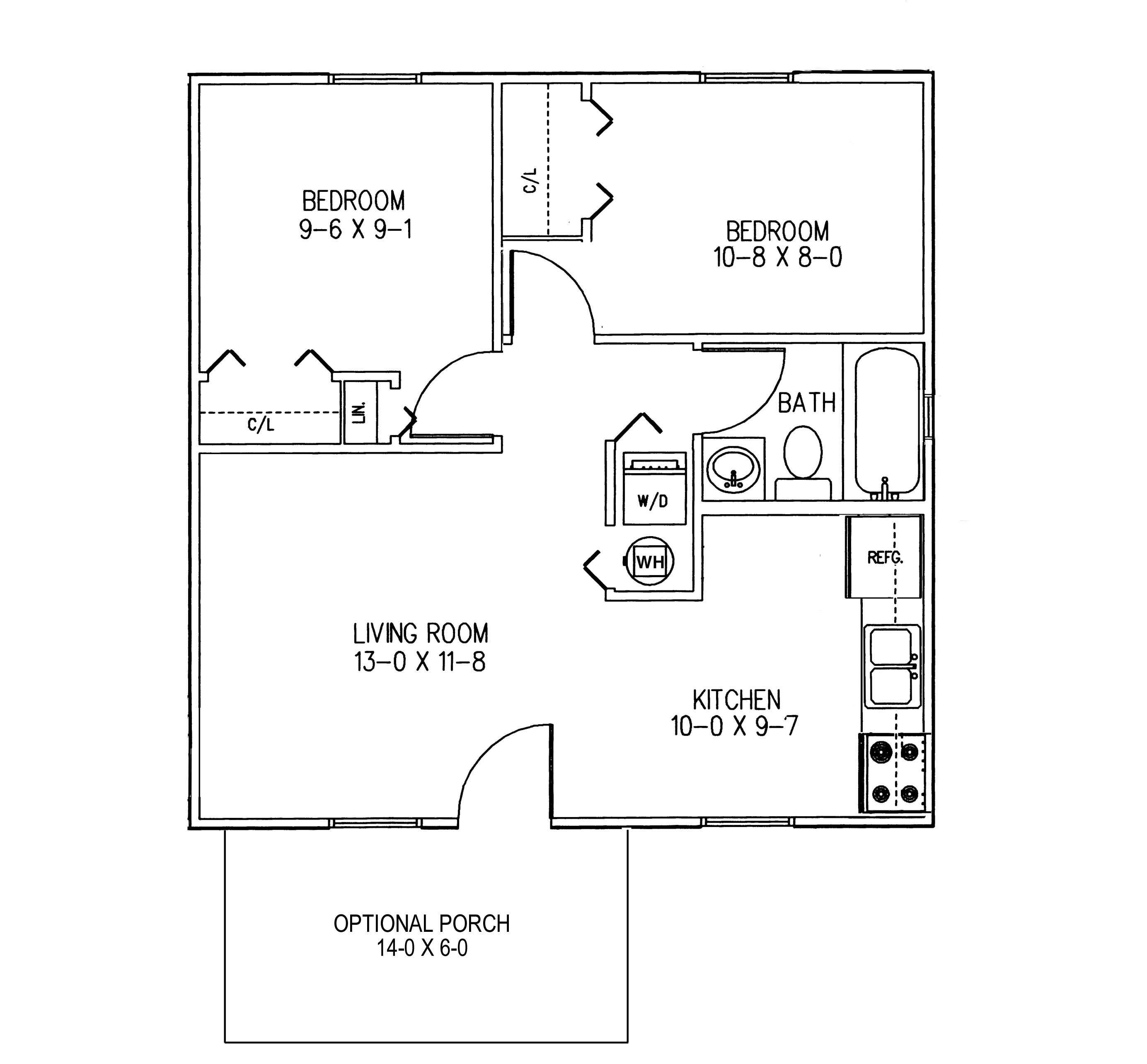 Kitchen Tool Plan Floor