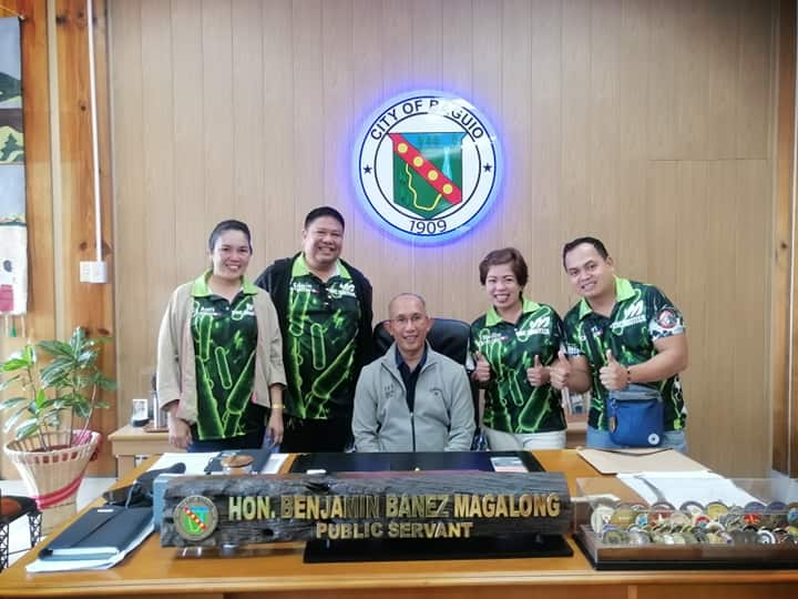 CHC Agritech Team photo-op with Mayor Magalong