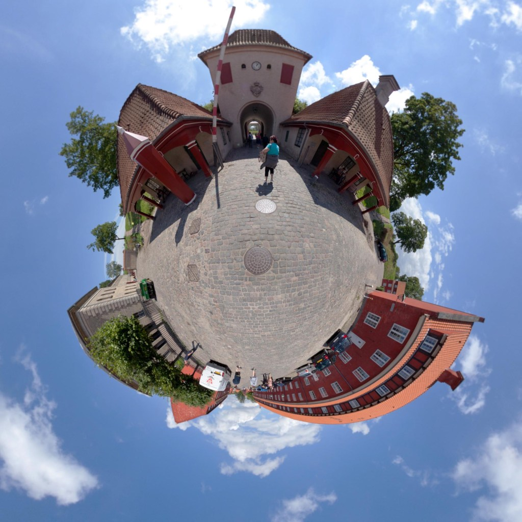 little planet - Kastellet in Kopenhagen