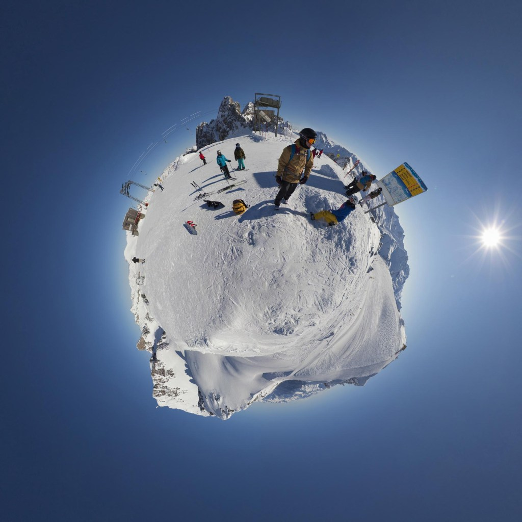 little planet - St. Anton