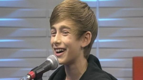 Johnny Orlando drops by Morning Live for Tiny Talent Time ...