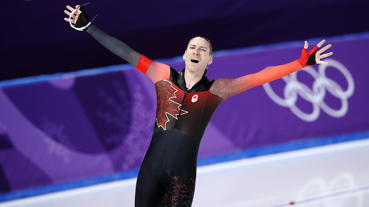 Image result for ted-jan bloemen olympics 2018
