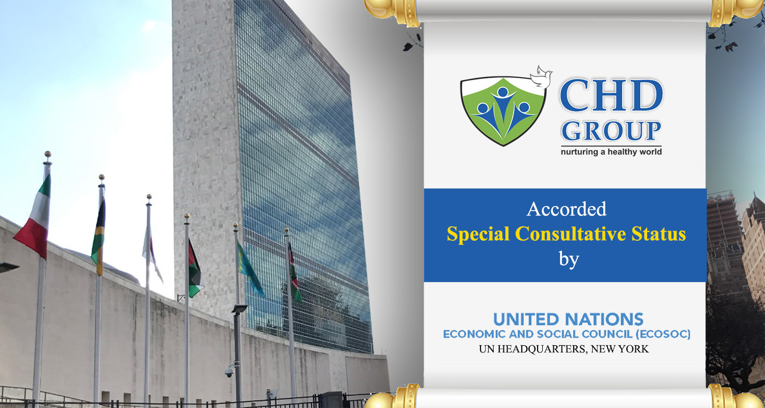 CHD Group Holding UNECOSOC Special Consultative Status