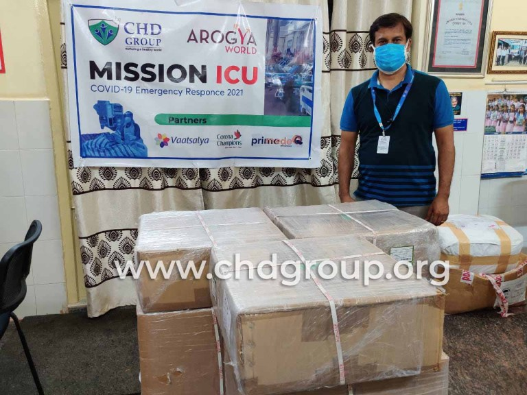 CHD Group launches Mission ICU