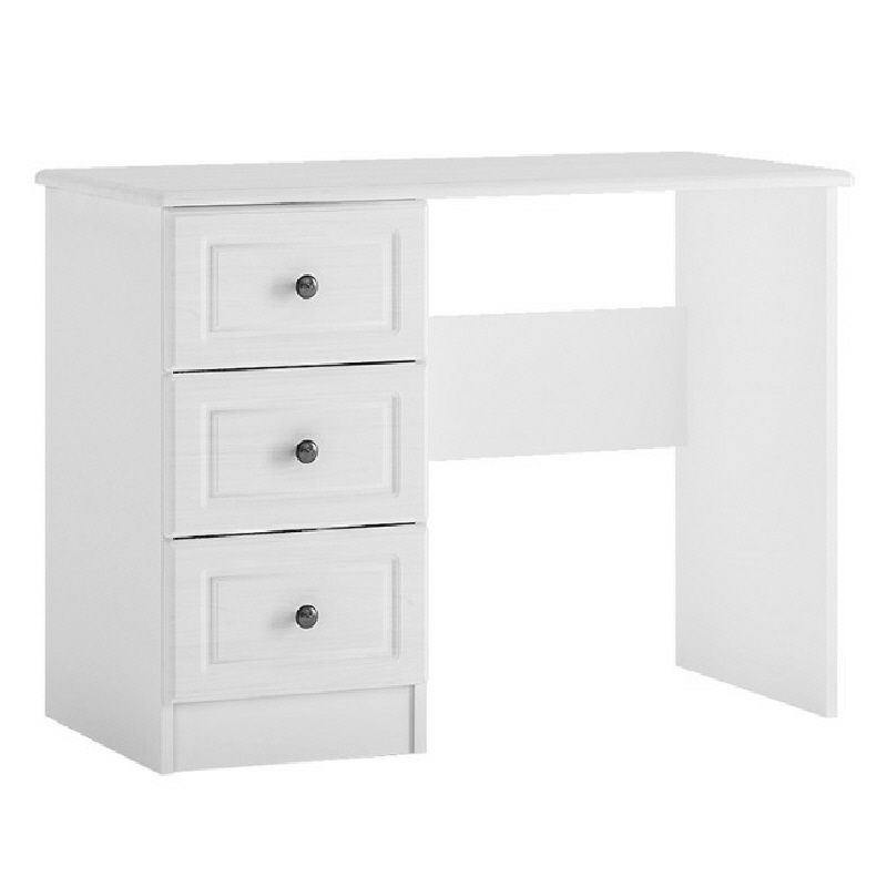 White Dressing Table With 3 Drawers Hampshire Cheap Furniture