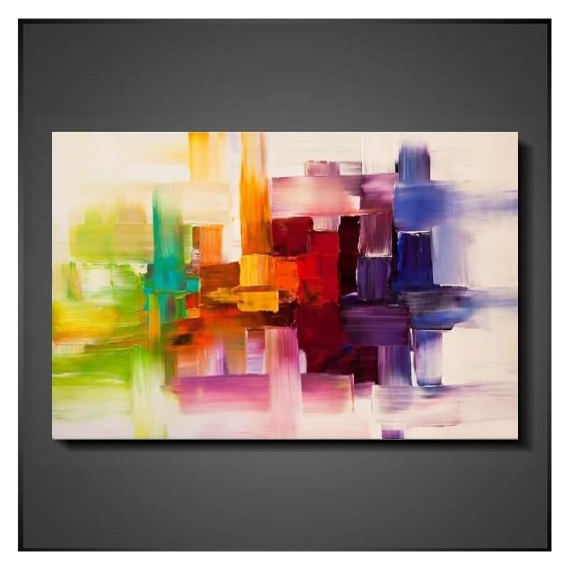 Maleri farver på stribe