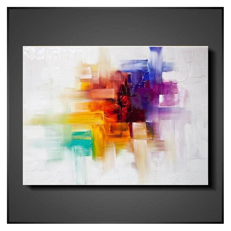 Farve eksplosion - håndlavet maler