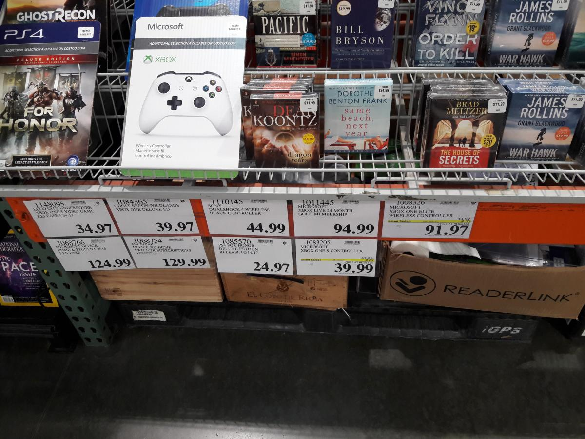 Costco XB1 Elite Controller 9197 YMMV Deal Graveyard
