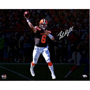 Autographed Cleveland Browns Baker Mayfield Fanatics Authentic 16