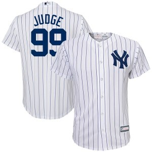 Youth New York Yankees Aaron Judge White Player Replica Jersey