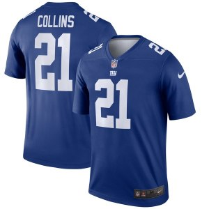 Men's New York Giants Landon Collins Nike Royal Legend Jersey