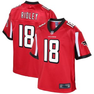 Men's Atlanta Falcons Calvin Ridley NFL Pro Line Red Big & Tall Player Jersey