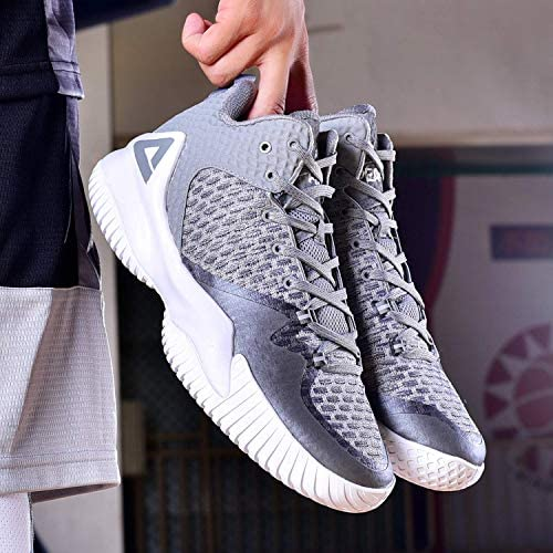 PEAK High Top Mens Basketball Shoes Lou Williams Streetball Master Breathable Non Slip Outdoor Sneakers Cushioning Workout Shoes for Fitness Carlsbad, California