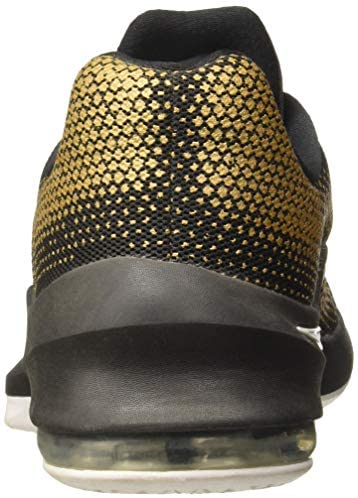 Nike Mens Air Max Infuriate Low Black/White Metallic Gold Basketball Shoe 11 Men US Columbia, South Carolina