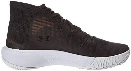 Under Armour Men's Spawn Mid Basketball Shoe Orange, California