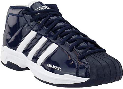 adidas Womens Sm Pro Model 2G Team Basketball Shoes Basketball Casual Shoes, Blue, 10 Macon, Georgia