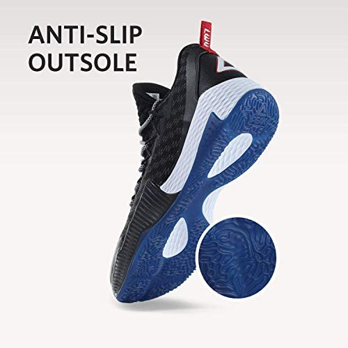 PEAK Mens Basketball Shoes Breathable Sneakers Lou Williams Lightning Professional Anti Slip Sports Shoes for Running, Walking Santa Maria, California
