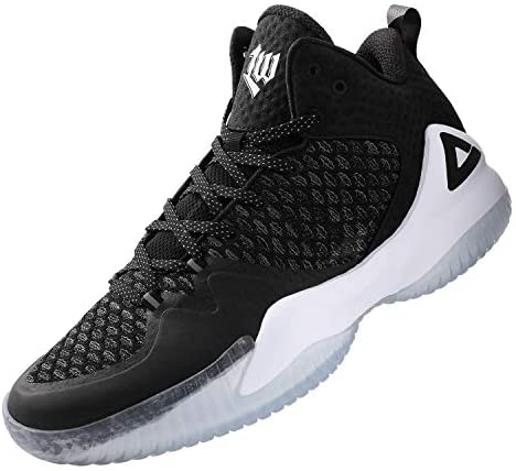 PEAK High Top Mens Basketball Shoes Lou Williams Streetball Master Breathable Non Slip Outdoor Sneakers Cushioning Workout Shoes for Fitness Independence, Missouri