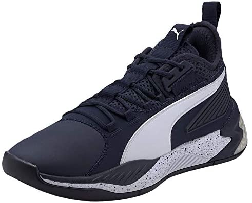 PUMA Mens Uproar Hybrid Court Core Basketball Sneakers Shoes Casual – Blue Grand Rapids, Michigan