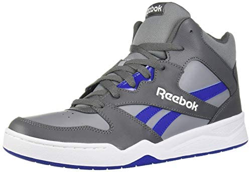 Reebok Men's Royal BB4500 HI2 Basketball Shoe, Cold Grey/Cobalt/White Springfield, Missouri