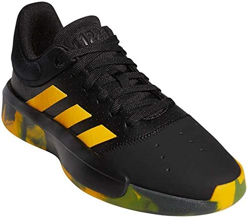 adidas Men's Pro Adversary 2019 Basketball CoreBlack/ActiveGold/LegendEarth 10 Daly City, California