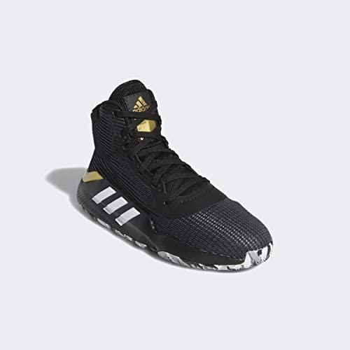 adidas Pro Bounce 2019 Black/White/Grey Basketball Shoes (F97282) Little Rock, Arkansas
