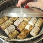 Soak Wine Corks Before Cutting for Crafts