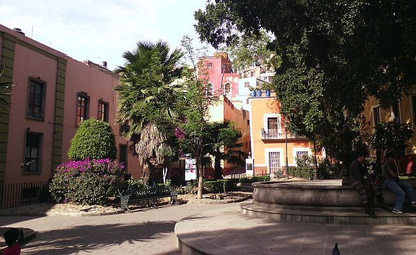 plaza de la reforma in Mexico