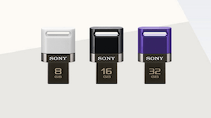 micro USB flash drives from 32GB of memory storage