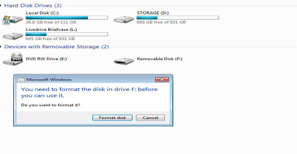 How do I Format My SD Card, Which Is In Raw Format?
