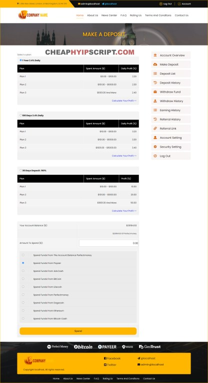 goldcoders hyip manager script download