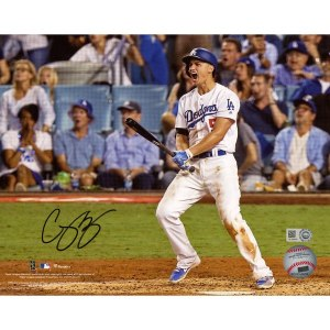 Autographed Los Angeles Dodgers Corey Seager Fanatics Authentic 8