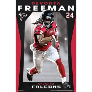 Devonta Freeman Atlanta Falcons 22'' x 34'' Player Poster