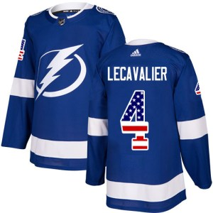 Adidas Lightning #4 Vincent Lecavalier Blue Home A cheap fan jerseys