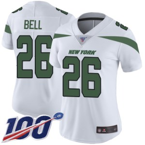 Nike Jets #26 Le'Veon Bell White Women's Stitched  cheap Carolina Panthers home jerseys