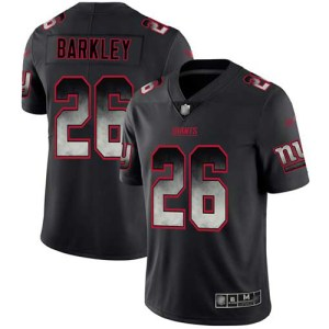 Nike Giants #26 Saquon Barkley Black Men's Stitche usa soccer jersey numbers 2019