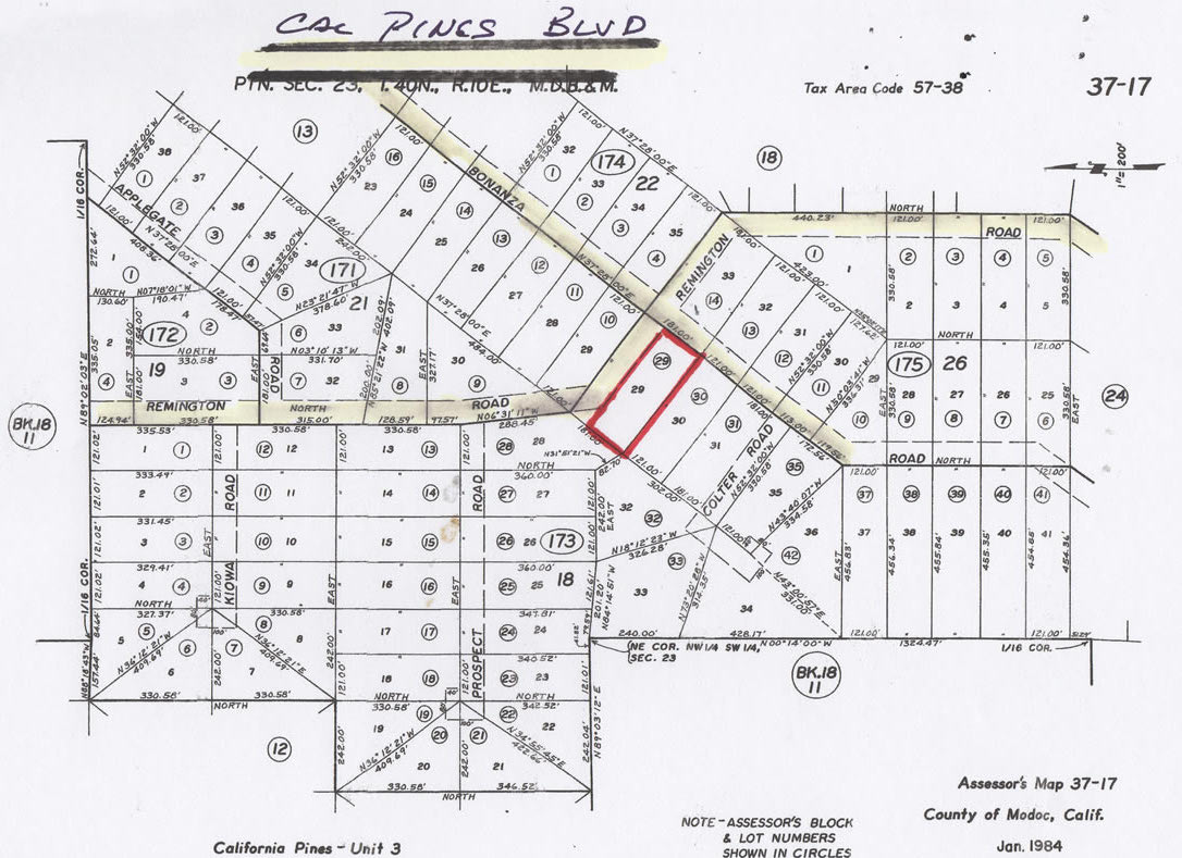 Lot 33 Block 26 Hill Unit 3 Scenic Mountain Lot With