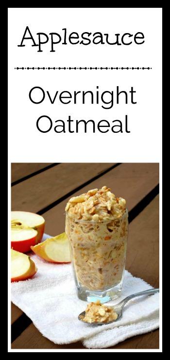Applesauce Overnight Oatmeal – Cheap Recipe Blog