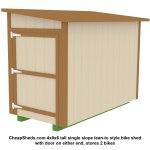 028-4x8x6-lean-to-bike-shed