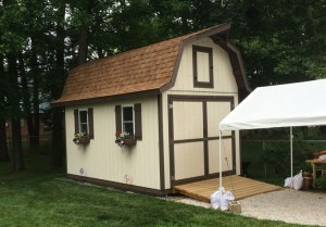 12x16 Tall Barn Style Shed