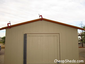 gable roof trim