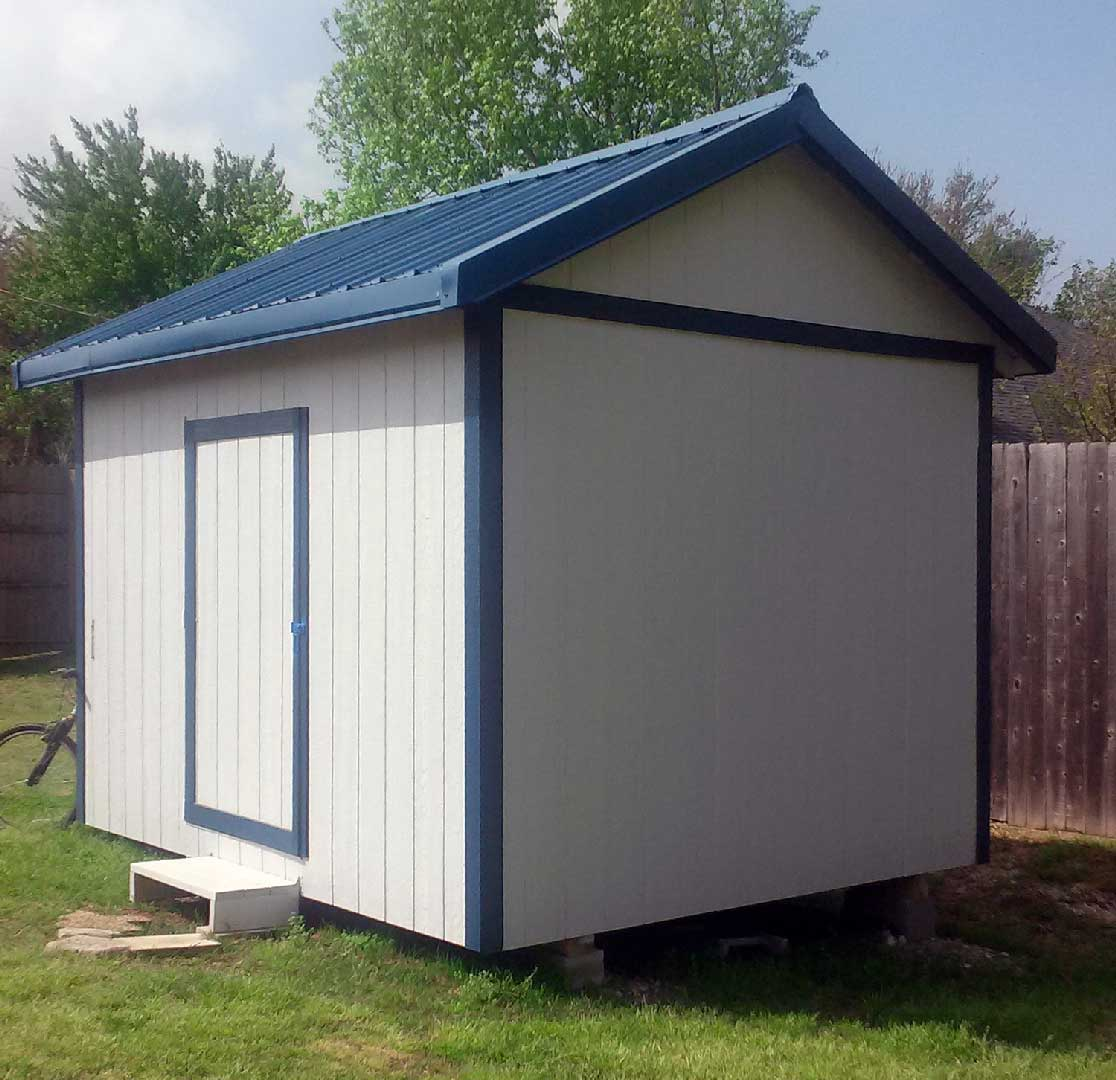 Deluxe gable roof shed photo gallery for Gable style shed