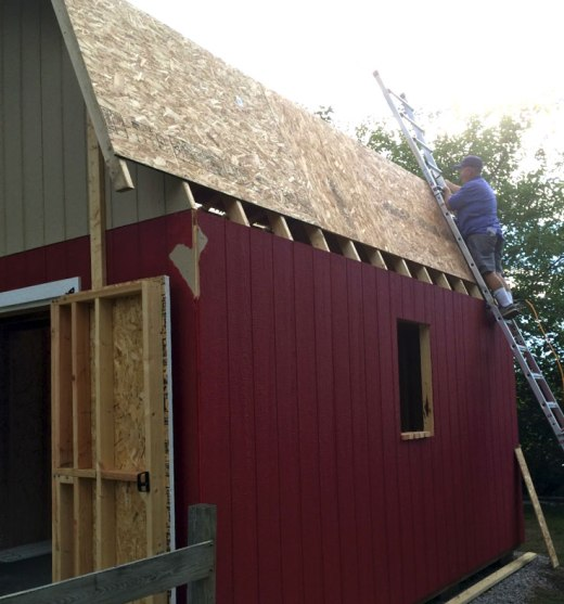 barn-style-gambrel-roof-shed-truss-roof-sheeting-ladder