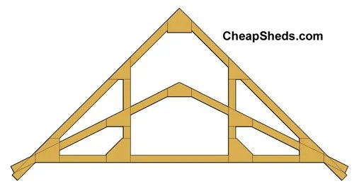 Step 3 Build 3 12 6 12 Or 12 12 Gable Trusses