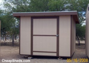 Lean to style single sloped sheds