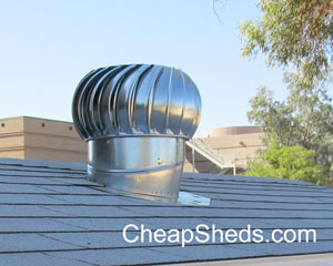 whirlybird turbine roof vent